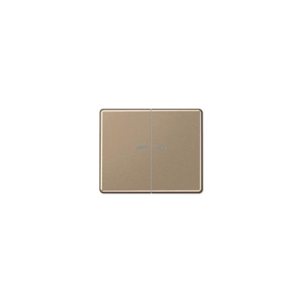 Jung SL595KO5GB Wippe Serienschalter Lichtleiter gold-bronze