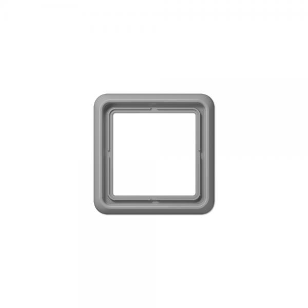 Jung CD581WUGR Abdeckrahmen 1fach bruchsicher grau