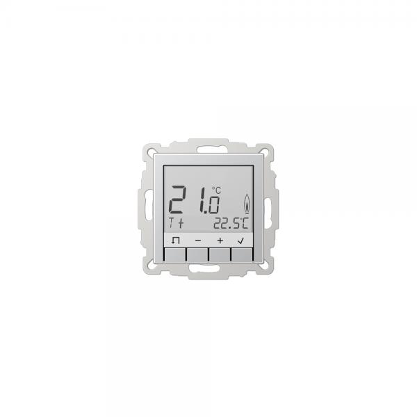Jung TRUDA231AL Raumtemperaturregler mit Display aluminium