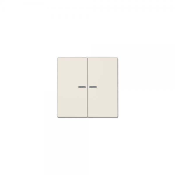 Jung LS995KO5 Serien-Wippe mit Lichtleiter cremeweiss